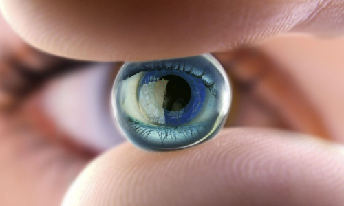 Искусственный глазной хрусталик