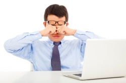 Проблемы со зрением из-за длительного сидения у компьютера