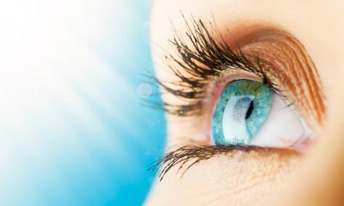 Хорошее зрение вследствие лазерной операции