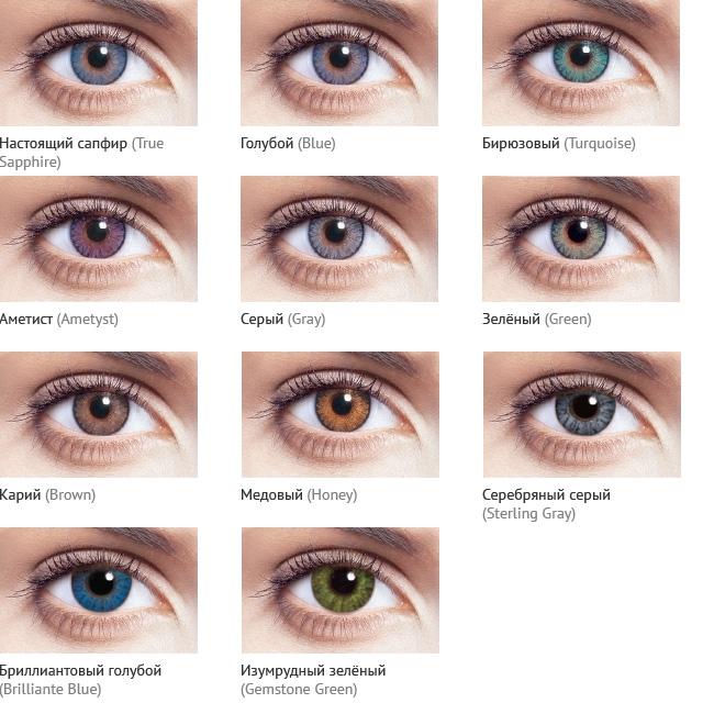 как- название цветов глаз с фото птица