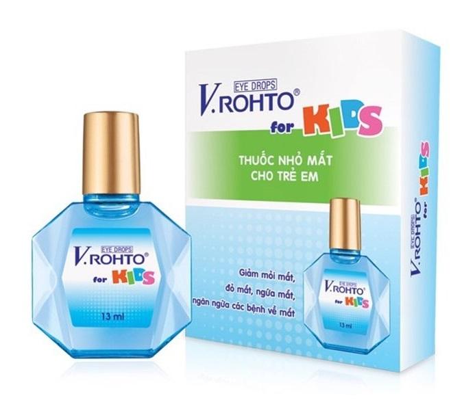 Детские капли для глаз V.Rohto for Kids