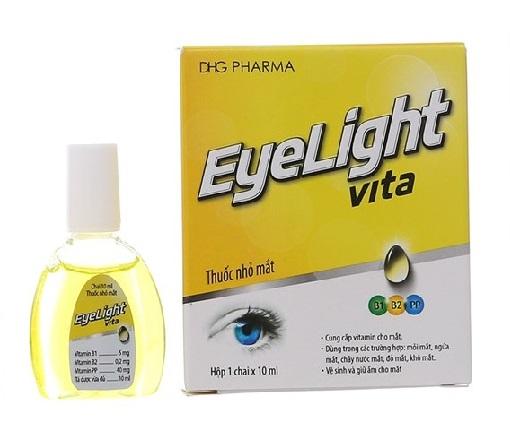 Глазные капли с витаминами Eyelight Vita Yellow